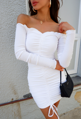 ANGELS DRESS | WHITE