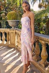 ARIEL DRESS | PINK TIE DYE - SALE