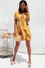 BELOVED DRESS | CARAMEL SPOT