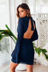 Cynthia Dress | NAVY - SALE