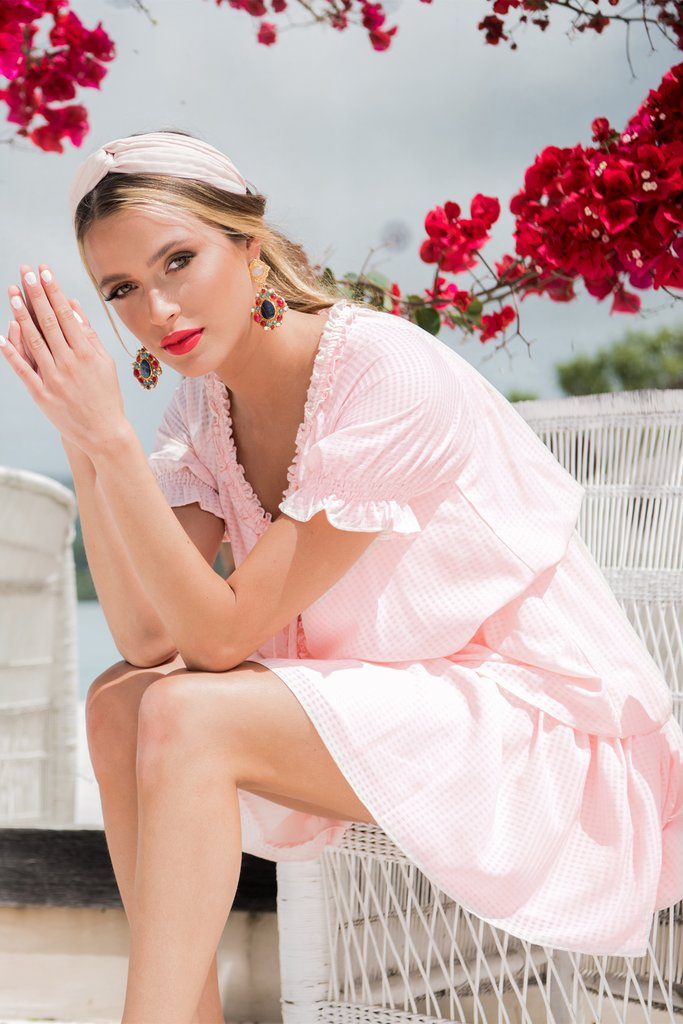 DAYNA DRESS | PINK - SALE