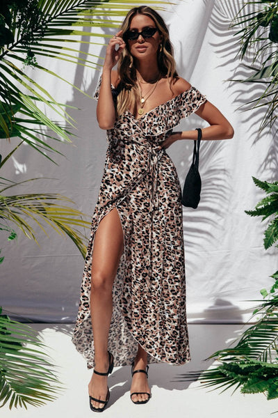 FLO DRESS | LEOPARD PRINT