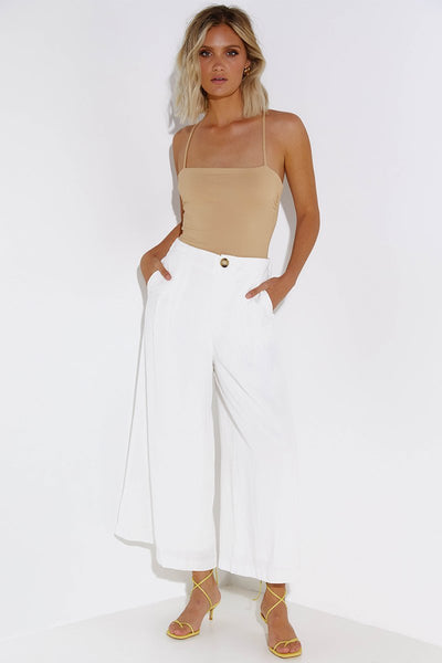 HARRI PANTS | WHITE