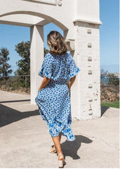 INDIAN SUMMER MAXI DRESS | BLUE PRINT
