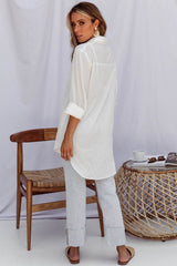 OVERSIZED LEOPOLD SHIRT | WHITE