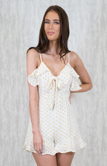 Polka Dot Playsuit - SALE