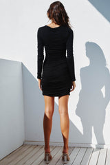 LILIYA DRESS | BLACK