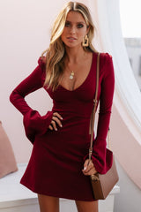 MIRACLE DRESS | WINE - SALE