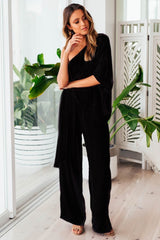 Neptune Jumpsuit | BLACK