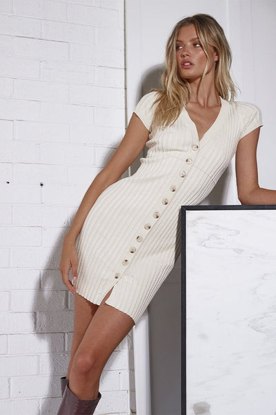 NEVADA DRESS | CREAM