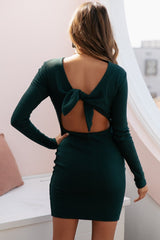 ROCHELLE RIBBED MINI | JADE GREEN