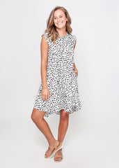 LAYLA DRESS | BLACK AND WHITE PRINT