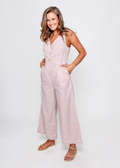 NADIA JUMPSUIT | ROSE PETAL