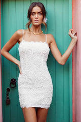 Nakoda Lace Dress | WHITE - SALE