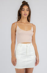 CAMILLA KNIT CAMI | BLUSH