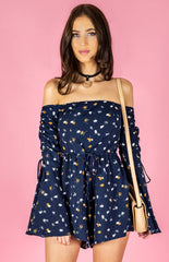 Festival Playsuit | NAVY - SALE