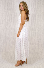 Paige Maxi Dress  | WHITE - SALE