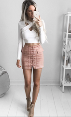 Jackie Skirt | Rose - SALE