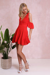 Cyan Dress | RED - SALE