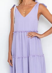 HANNAH MAXI DRESS | LAVENDER - SALE