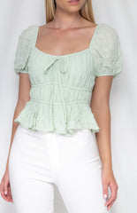 APPLE TOP | MINT