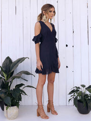 Worlds Collide Wrap Dress - SALE