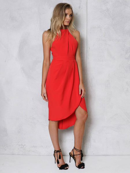 Lilah Dress RED - SALE