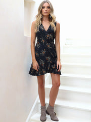 Summer Nights Wrap Dress Floral