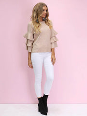 Play For Keeps Knit | BEIGE REDUCED was $72 now $59