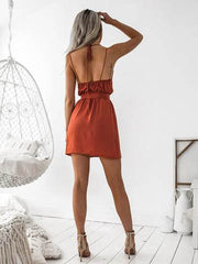 The Brooklyn Dress | RUST - SALE