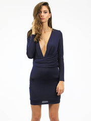 Another Day Dress Navy - SALE
