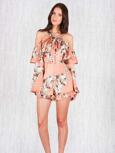 Sweet Pea Playsuit | RUST - SALE