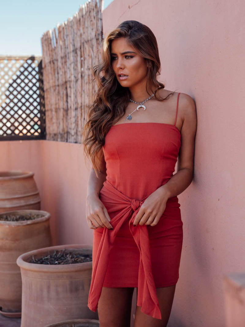 Sammy Dress | Burnt Orange - SALE