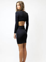 Willow Dress Black - SALE