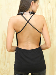 Cross Back Singlet - SALE
