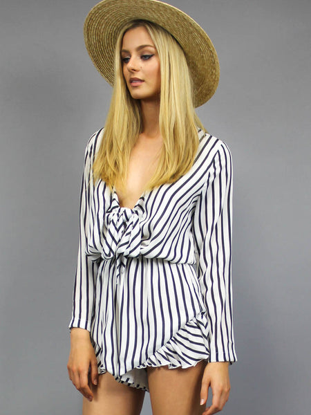 Clarity Playsuit Stripe - SALE