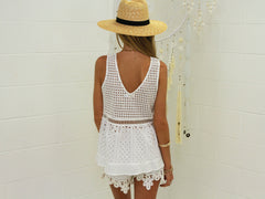 Sandy Crochet Top - SALE