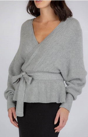 HAILEY KNIT | GREY - SALE