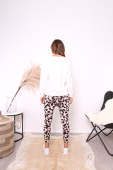 ROSE DROP CROTCH PANTS | BLUSH