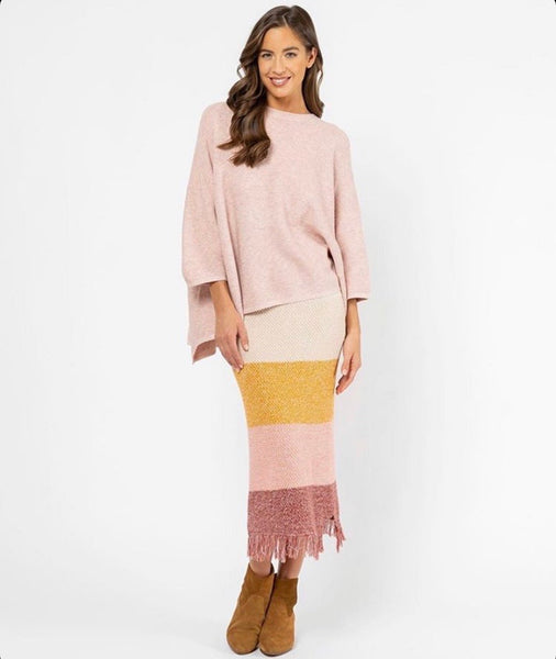AMBER KNIT SKIRT | MULTI