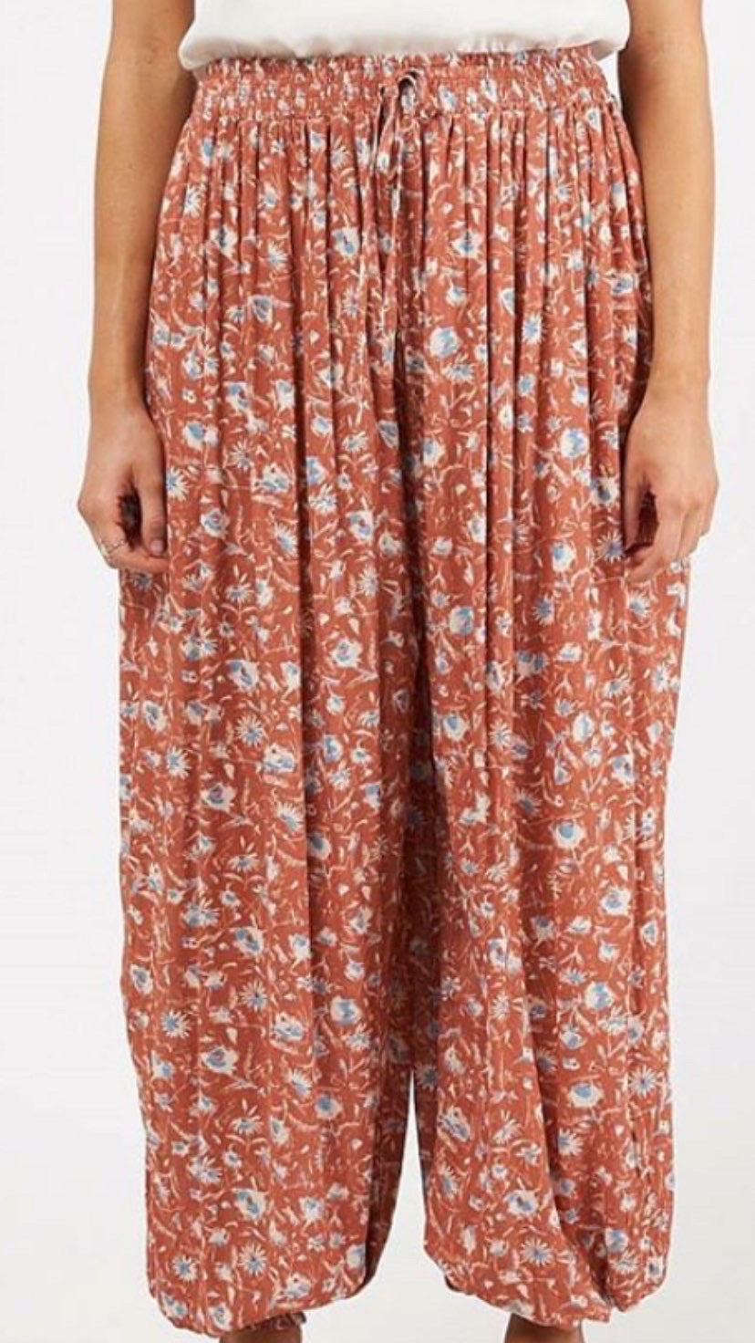 ANOUK Pants | RUST PRINT - SALE