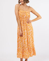 SOPHIA DRESS | TANGERINE - SALE