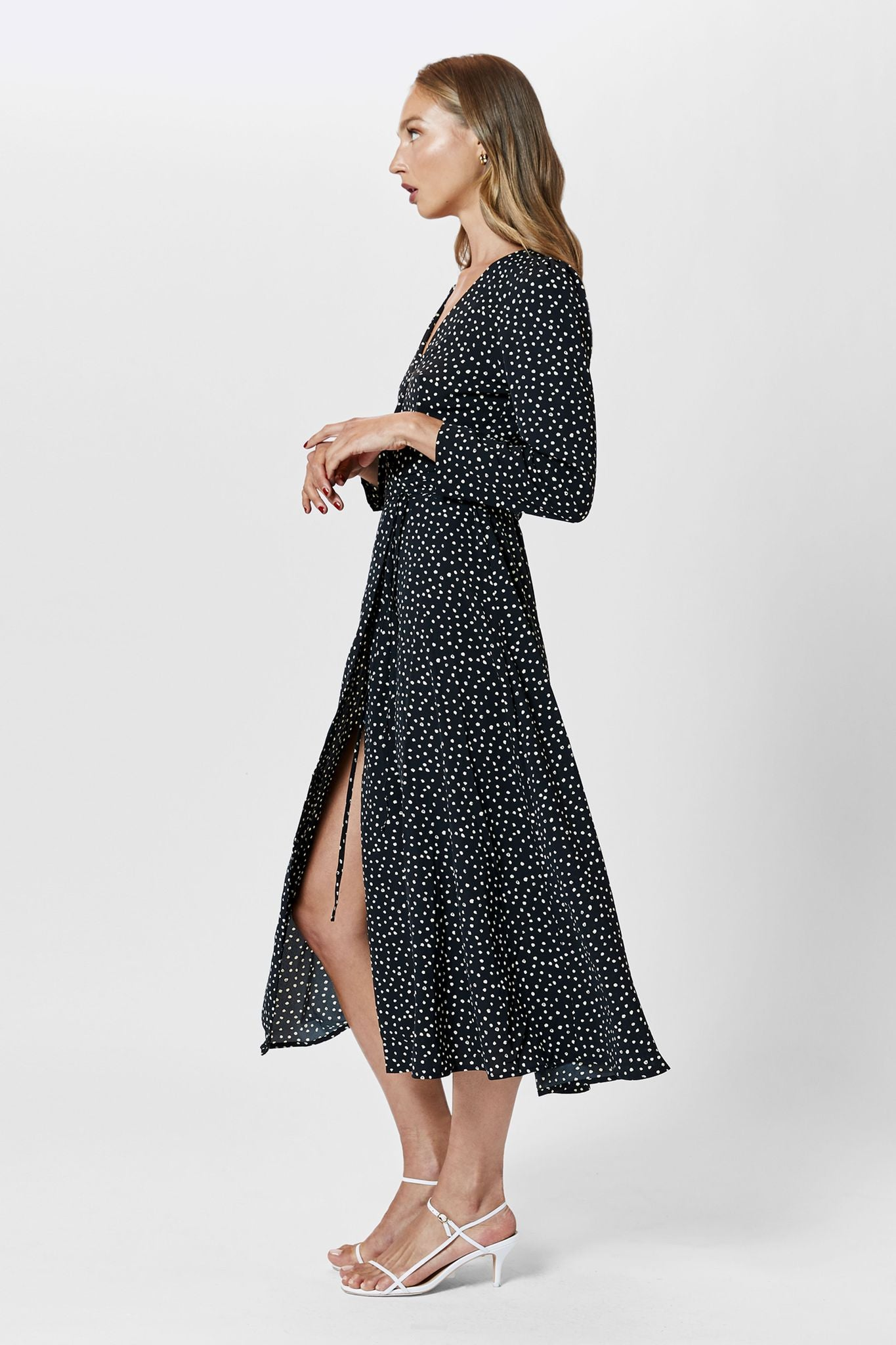 MARABELLA WRAP DRESS | SPOT