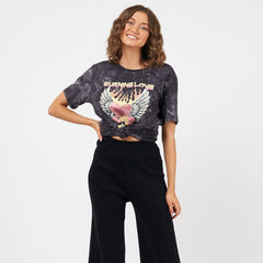 BURNING LOVE VINTAGE TEE