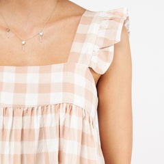 PRIMROSE DRESS | CHECK - SALE