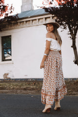 INDIAN SUMMER BOHO SKIRT | NATURAL