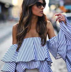 Spencer Stripe Top