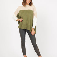 KENNEDY KNIT | OLIVE - SALE