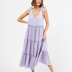 HANNAH MAXI DRESS | LAVENDER