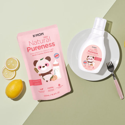 [Pre-Order] Natural Pureness Bottle Cleanser Bubble USDA Organic (Bottle + Refill)